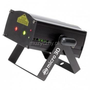 Проектор лазерный для шоу Micro 3D