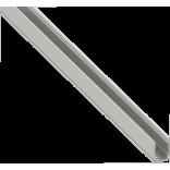 Светодиодный профиль крепежный для гибкого неона, алюминиевый, анодированный SFN-1015