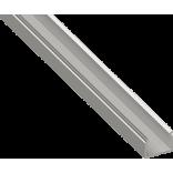 Сетодиодный профиль накладной, алюминиевый, анодированный SF-1612