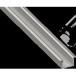Светодиодный профиль врезной, алюминиевый, анодированный RC-2212