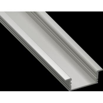 Светодиодный профиль врезной, алюминиевый, анодированный RC-3312