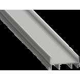 Светодиодный профиль для скрытого монтажа алюминиевый, анодированный SF-3512