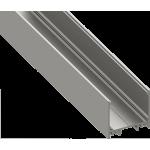 Светодиодный профиль для скрытого монтажа алюминиевый, анодированный LS-3532