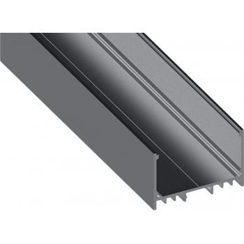 Светодиодный профиль для скрытого монтажа алюминиевый, анодированный LS-5032