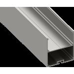 Светодиодный профиль подвесной, алюминиевый, анодированный LS-5055