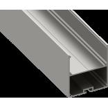 Светодиодный профиль подвесной, алюминиевый, анодированный LS-5055-2.5