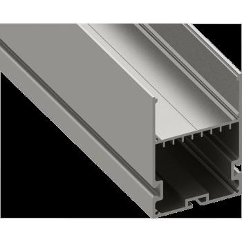 Светодиодный профиль подвесной, алюминиевый, анодированный LS-5070-2.5