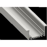 Светодиодный профиль врезной, алюминиевый, анодированный LE-6232-2.5