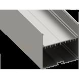 Светодиодный профиль подвесной, алюминиевый, анодированный LS-7070