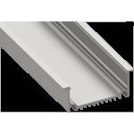 Светодиодный профиль врезной, алюминиевый, анодированный LE-8232