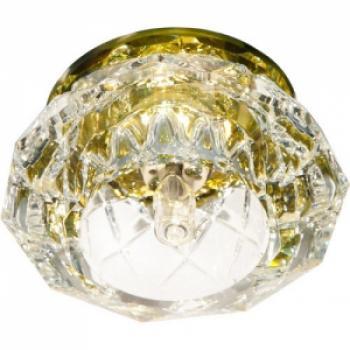 Светильник декоративный JD71 JCD9 35W G9 желтый, хром