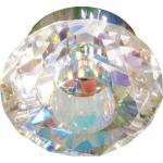 Светильник потолочный, JCD G9 с многоцветным стеклом, хром, с лампой, DL8027-MC