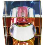 Светильник потолочный, JCD G9 с многоцветным стеклом, хром, с лампой, JD65-MC