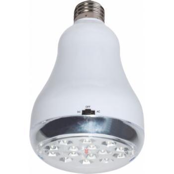 Светильник аккумуляторный, 15 LED Е27 AC/DC (свинцово-кислотная батарея), белый, WL15