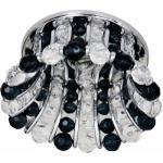 Светильник потолочный, JCD9 G9 с прозрачным и черным стеклом, хром, с лампой, CD2120