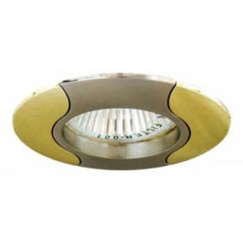 Светильник потолочный, MR11 G4.0 титан-золото, 020Т-MR11