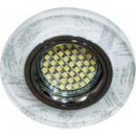 Светильник встраиваемый 15LED*2835 SMD MR16 12V 50W G5.3, белый, серебро, 8686-2