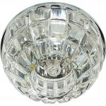 Светильник встраиваемый со светодиодной подсветкой 2,5W 4000К JCD9 35W 230V/50Hz G9, прозрачный, прозрачный, JD187