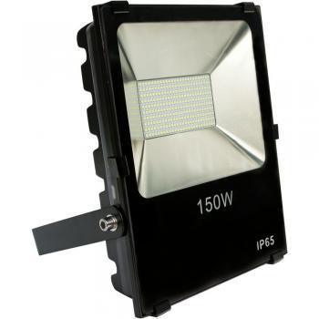 Прожектор светодиодный 2835 SMD 150W 15000LM 6400K AC220V/50Hz 370*290*90mm IP65, черный, LL-845