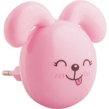 Светильник ночник Feron FN1167 0.5W 220V, розовый