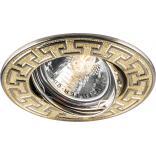 Светильник потолочный, MR16 G5.3 золото-титан, DL2008