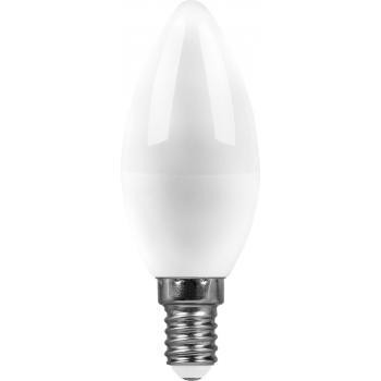 Лампа светодиодная SAFFIT SBC3707 Свеча E14 7W 2700K