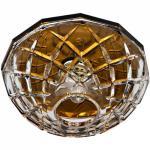 Светильник потолочный, JCD9 35W G9 с прозрачным стеклом, коричневый, JD179