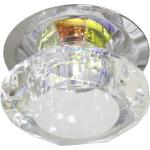 Светильник потолочный, JCD9 G9 с многоцветным стеклом, хром, с лампой, JD83M-MC