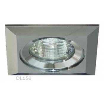 Светильник потолочный, MR16 50W G5,3 матовый хром, алюминий, DL150