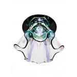 Светильник потолочный, JCD9 40W G9 с многоцветным стеклом, хром, CD2214