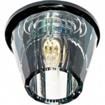 Светильник потолочный, JCD9 G9 прозрачный, черный, с лампой, JD150