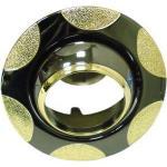 Светильник потолочный, MR16 G5.3 черный металлик-золото, 156-MR16