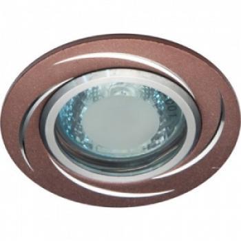 Светильник потолочный, MR16 50W G5.3 коричневый, GS-M362BR