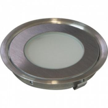 Комплект светильников встраиваемых со светодиодами 6шт,6*6 LED, 3W, DC12V,белый, G1020