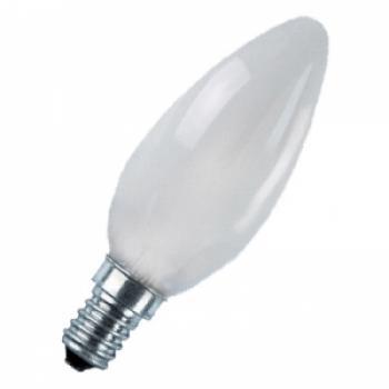 Лампа светодиодная, 6LED(3.5W) 230V E27 2700K матовая хром, LB-70