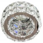 Светильник потолочный MR16 MAX50W 12V G5.3 прозрачный, хром, CD4529