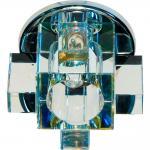 Светильник потолочный, JCD G9 с желтым стеклом, хром, с лампой, C1037Y