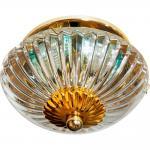Светильник встраиваемый потолочный MR16 MAX50W 12V G5.3 прозрачный, золото, C1717