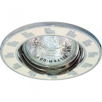 Светильник потолочный, MR16 G5.3 белый, DL2002