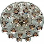 Светильник потолочный JCD9 Max35W G9 прозрачный-сиреневый, прозрачный, 1550
