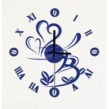 Часы-наклейка с маятником 1*AА батарея( в комплект не входит), NL31