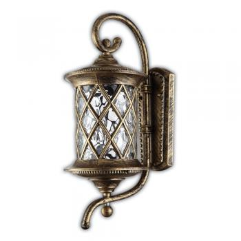 Светильник садово-парковый, 60W 230V E27 черное золото, IP44, PL5021