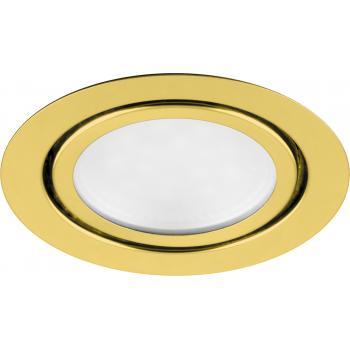Светодиодный светильник Feron LN7 встраиваемый 3W 4000K золотистый