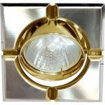 Светильник потолочный, MR16 G5.3 титан-золото, 098T-MR16-S