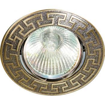 Светильник потолочный, MR16 G5.3 античное золото, DL2008