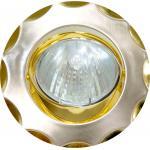 Светильник потолочный, MR16 G5.3 титан-золото, 703