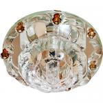 Светильник потолочный JCD9 Max35W G9 прозрачный-коричневый, прозрачный, 1580