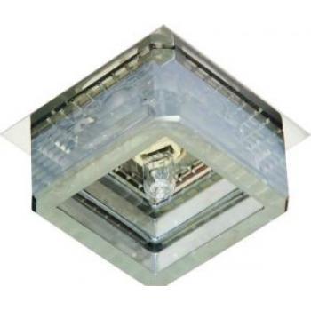 Светильник потолочный, JCD G9 с черным стеклом, хром, с лампой, CD2818