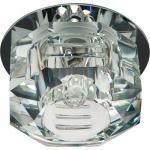 Светильник декоративный JD162 JCD9 35W G.9 прозрачный,хром