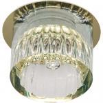 Светильник потолочный, JCD9 35W G9 прозрачный,золото, JD160